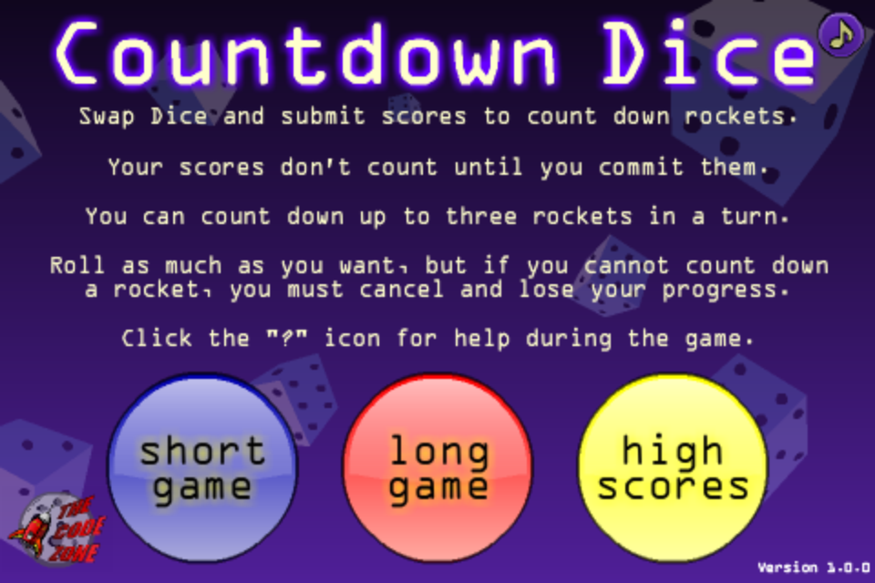 Screenshot Countdown Dice